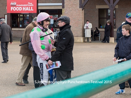 Ruby Walshe had 2 wins at the opening day of the Punchestown Festival 2015_Stephanie Joy Photography