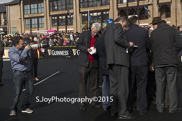 Willie Mullins Champion Trainer at Punchestown scoops the big races & everyone's taking note_ SAPMc Coy Champion Jockey 2015 for the 20th consecutive year_Ruby Walshe had 2 wins at the opening day of the Punchestown Festival 2015_Stephanie Joy Photography